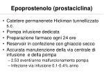 epoprostenolo prostaciclina55