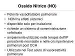 ossido nitrico no
