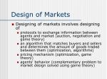 design of markets12