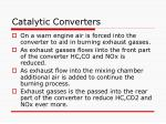 catalytic converters85