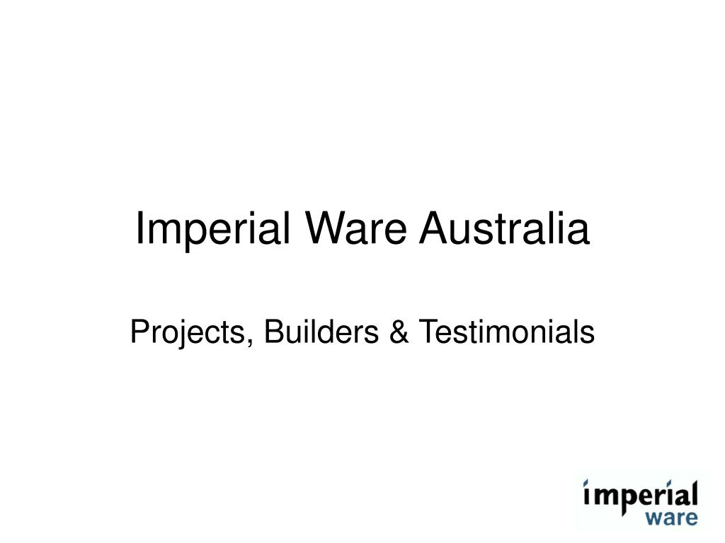 imperial ware australia l.