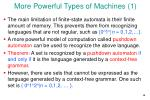 more powerful types of machines 1