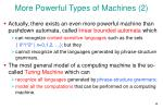 more powerful types of machines 2