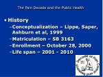 the pain decade and the public health2