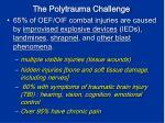 the polytrauma challenge