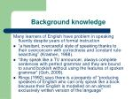 background knowledge6