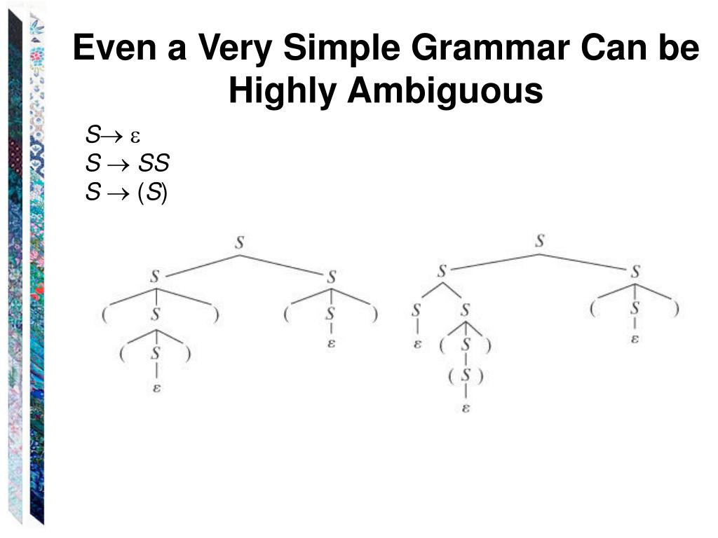Even a Very Simple Grammar Can be Highly Ambiguous