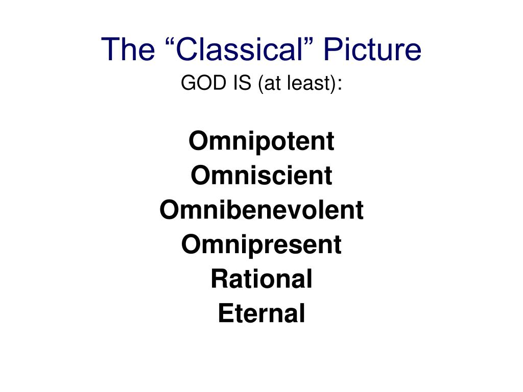 """The """"Classical"""" Picture"""