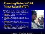 preventing mother to child transmission pmtct