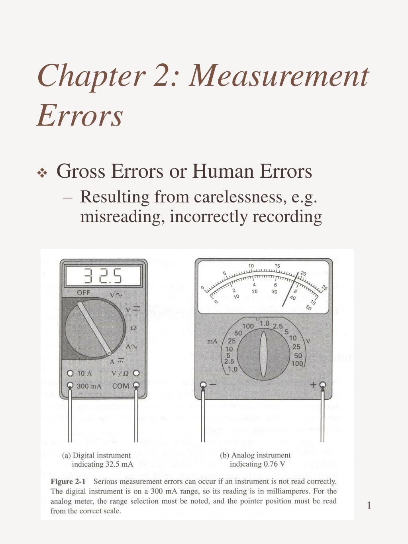 chapter 2 measurement errors l.