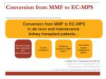 conversion from mmf to ec mp s