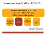 conversion from mmf to ec mp s11