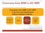 conversion from mmf to ec mp s15