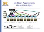 medsport appointments current state map