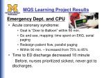 mqs learning project results49