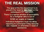 the real mission