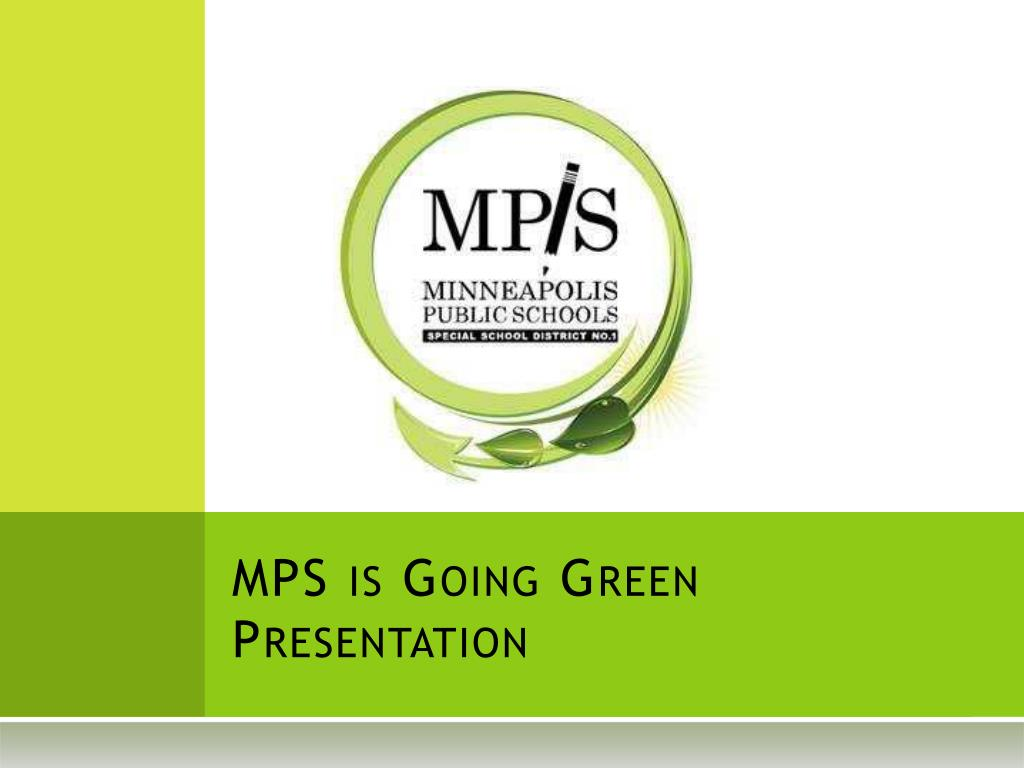 mps is going green presentation l.