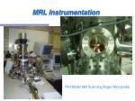 mrl instrumentation