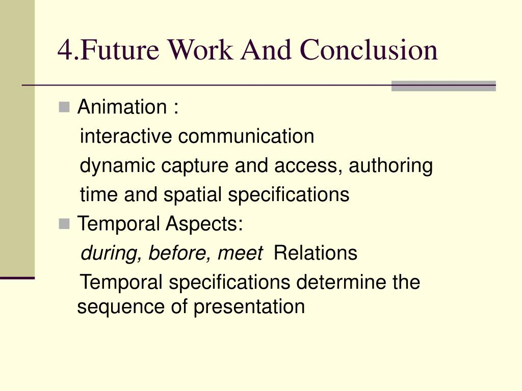 4.Future Work And Conclusion