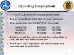 reporting employment14