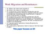 work migration and remittances12