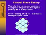 central place theory10