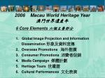 2006 macau world heritage year