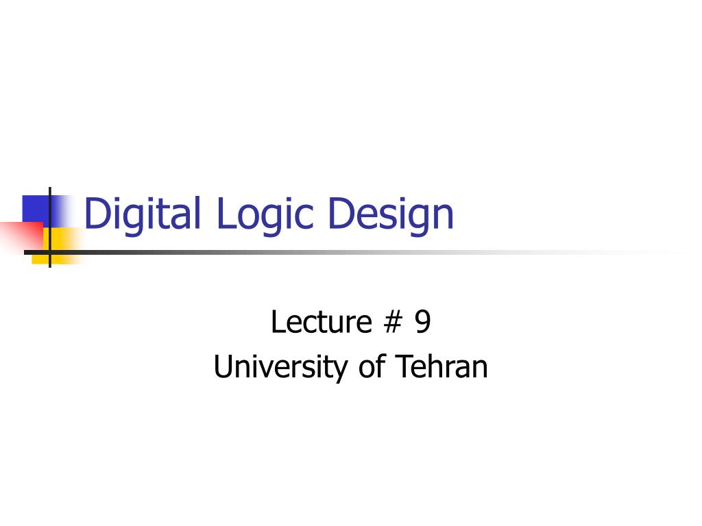 Ppt Digital Logic Design Powerpoint Presentation Id712841 Figure 7 4x1 Multiplexer With 2x4 Decoder Selector Circuit Diagram N