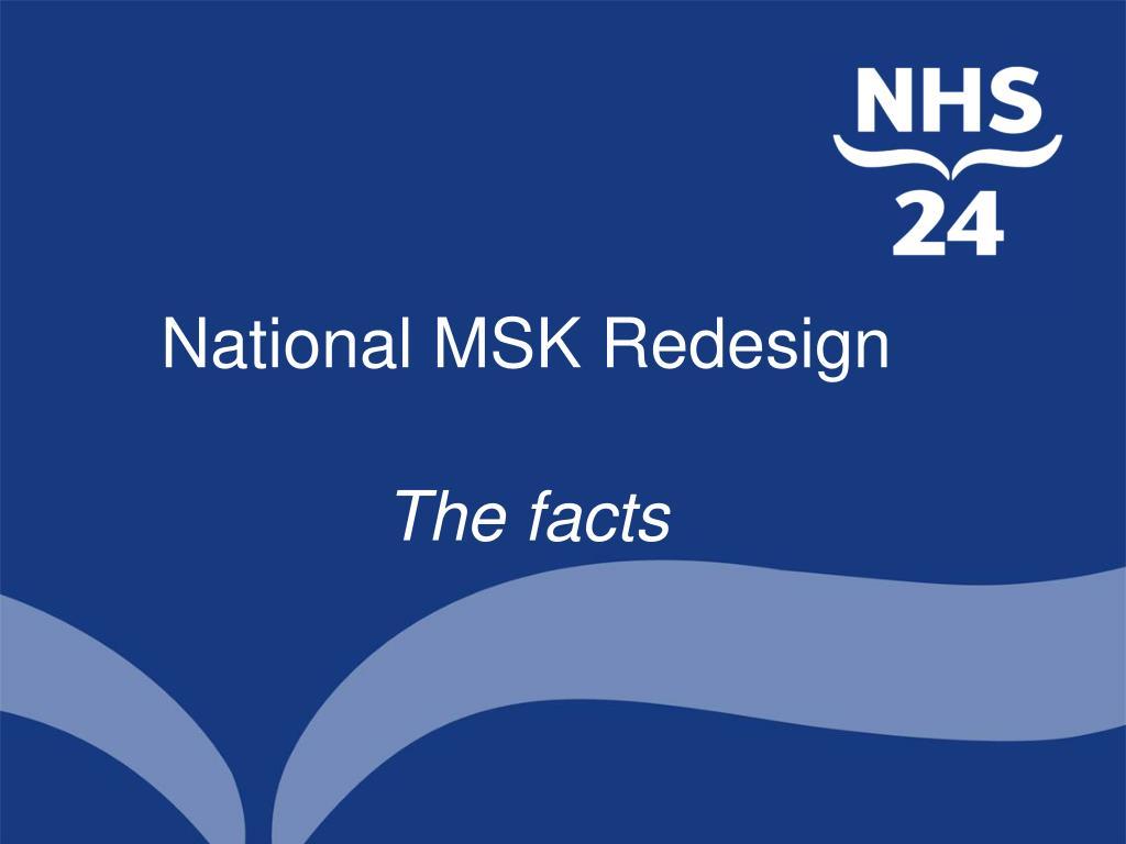 national msk redesign l.
