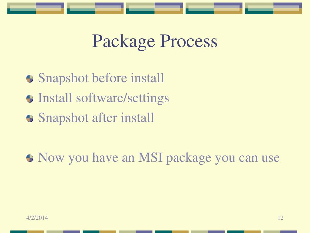 Package Process