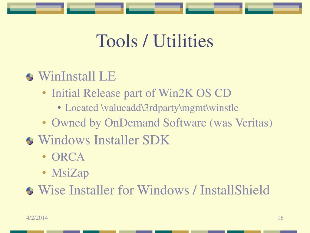 Tools / Utilities