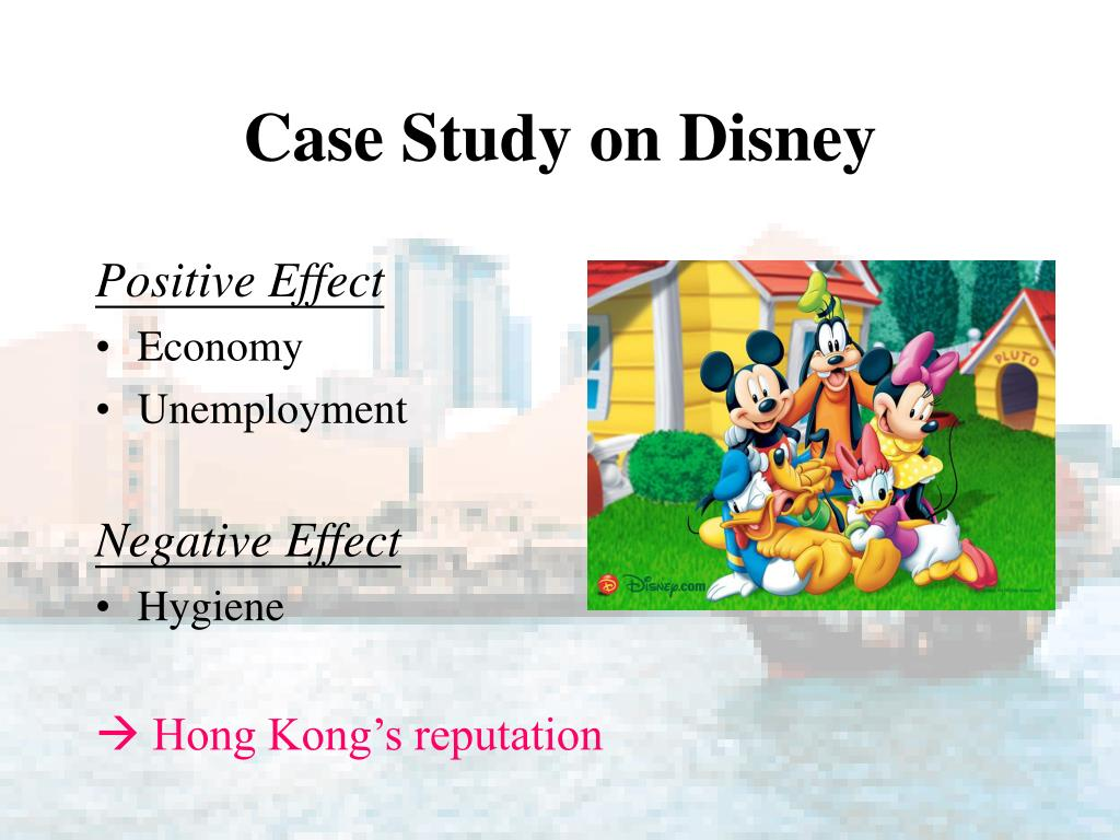 Case Study on Disney