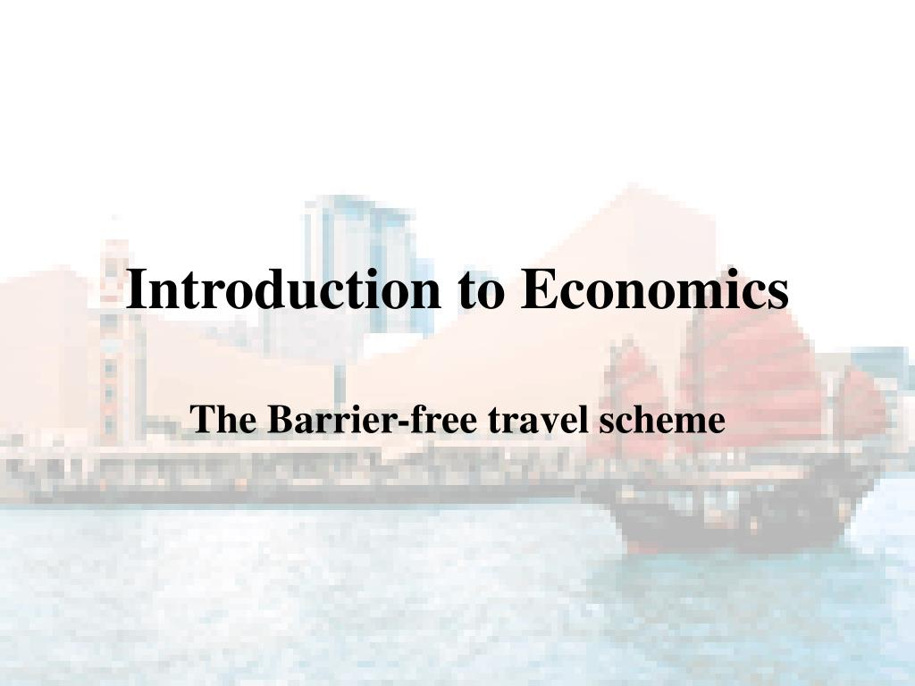 introduction to economics l.