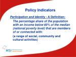 policy indicators2
