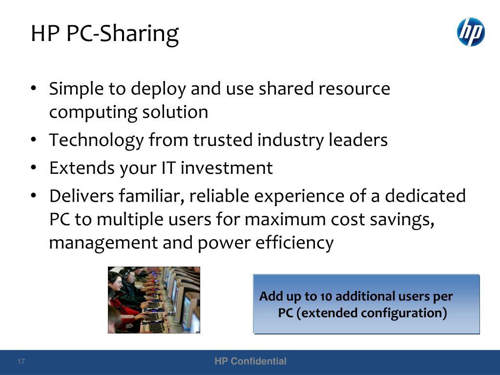 HP PC-Sharing