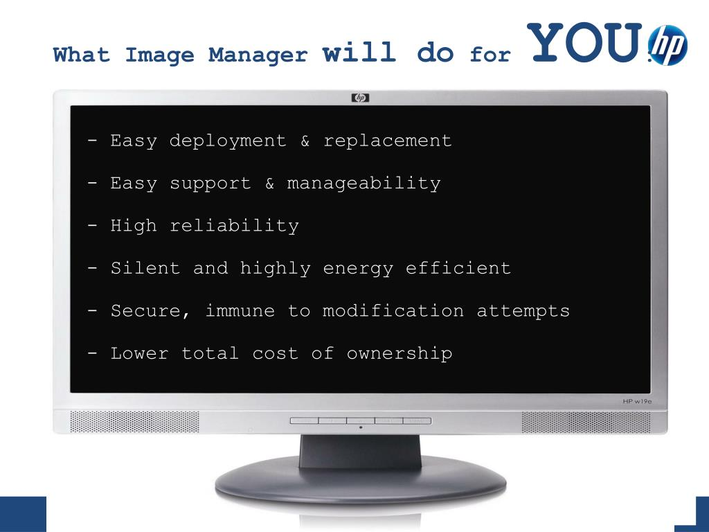 What Image Manager