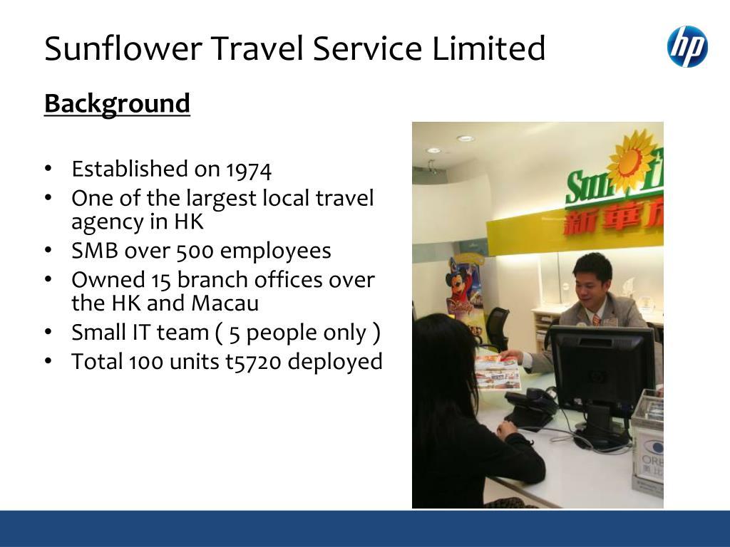 Sunflower Travel Service Limited