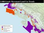 i 880 goods movement land use trends