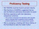 proficiency testing12