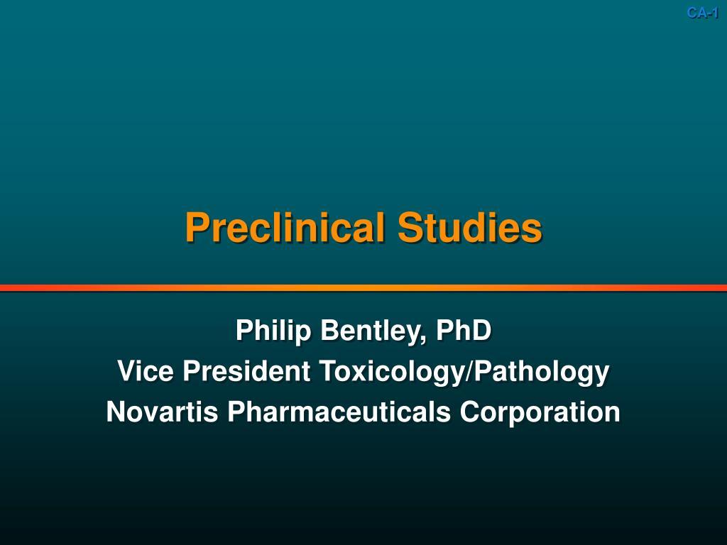 preclinical studies l.