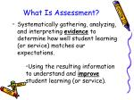 what is assessment9