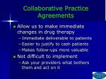 collaborative practice agreements