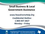 small business local government assistance