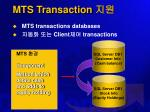 mts transaction