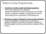 steps in linear programming1