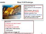 runs 9 10 prototype