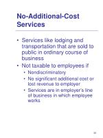 no additional cost services