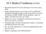 10 3 market conditions ve