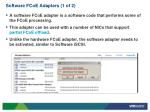 software fcoe adapters 1 of 2