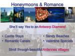 honeymoons romance